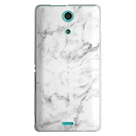 Sony Zr Cases - White Marble