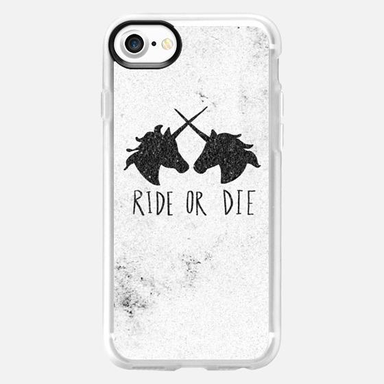 Ride or Die Unicorns - Wallet Case