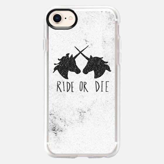 Ride or Die Unicorns - Snap Case
