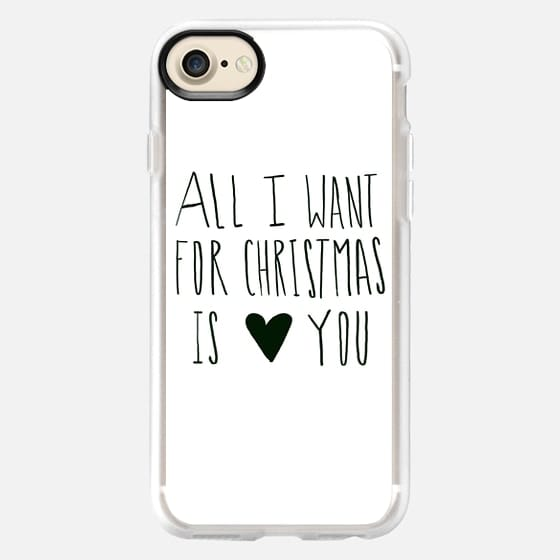 All I Want for Christmas - Classic Grip Case