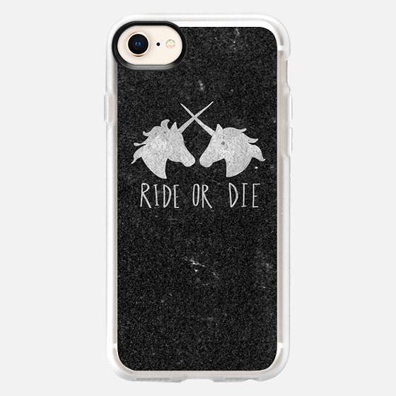 Ride or Die Unicorn Magic - Snap Case