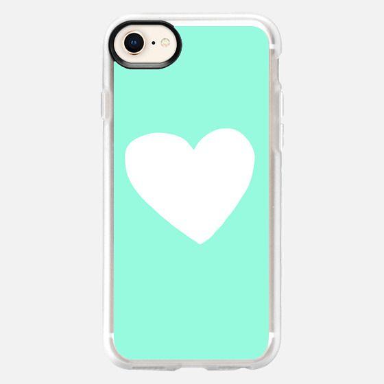 Mint Heart - Snap Case