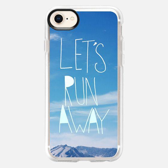 Lets Run Away Mountain - Snap Case