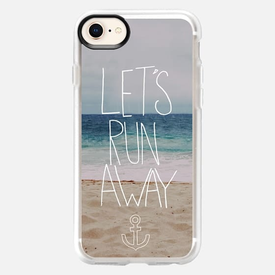 Lets Run Away Hawaii - Snap Case