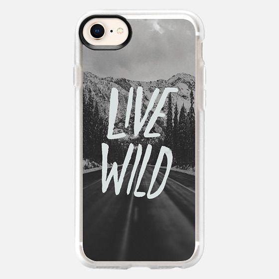 Live Wild Road Trip - Snap Case