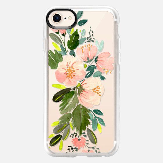 Pink Floral Bouquet - Snap Case