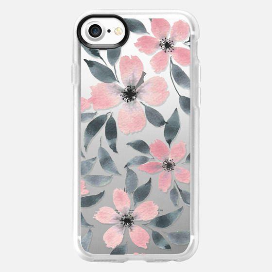 Spring flowers watercolor n.5 - Classic Grip Case