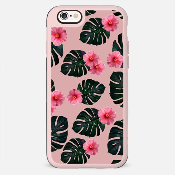 Tropical pattern n. 1 in pink - New Standard Case