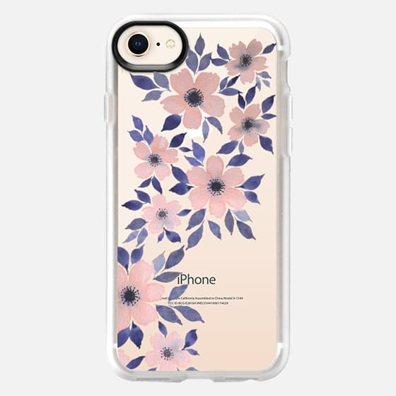 Spring floral watercolor n.4 - Snap Case