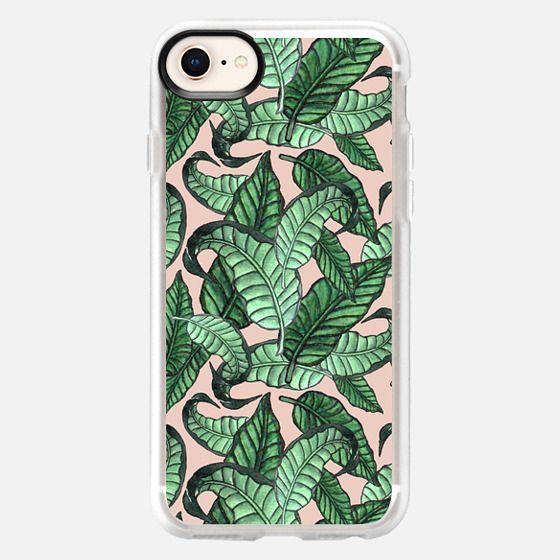 Leaves n.1 in pink - Snap Case