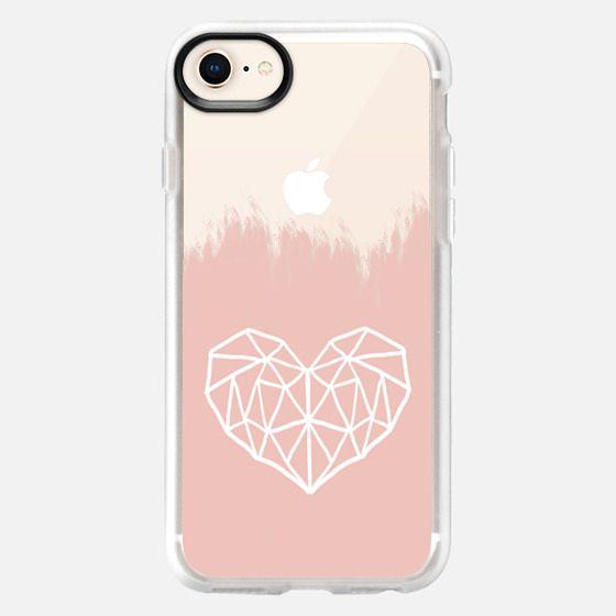Geometric Heart n.1 - Snap Case