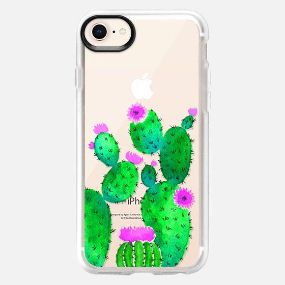 Cactus watercolor n.5 - Snap Case