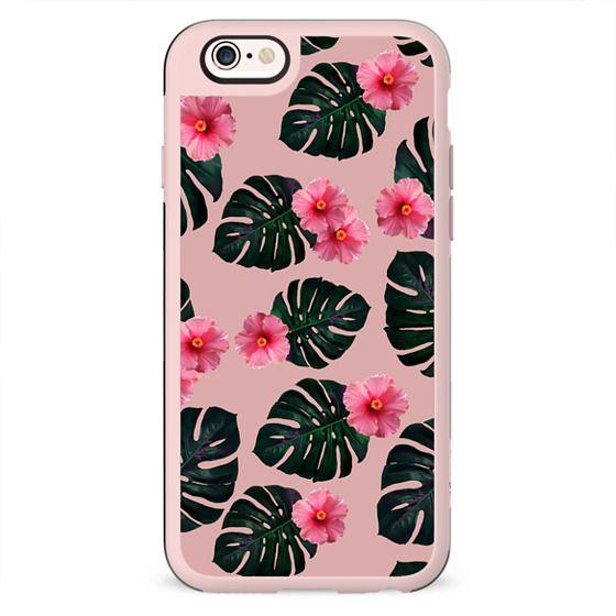 Tropical pattern n. 1 in pink