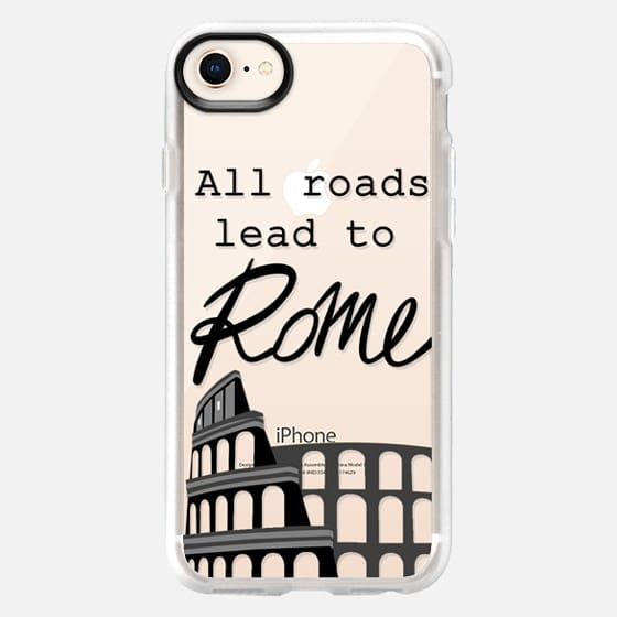 All roads lead to Rome! - Snap Case