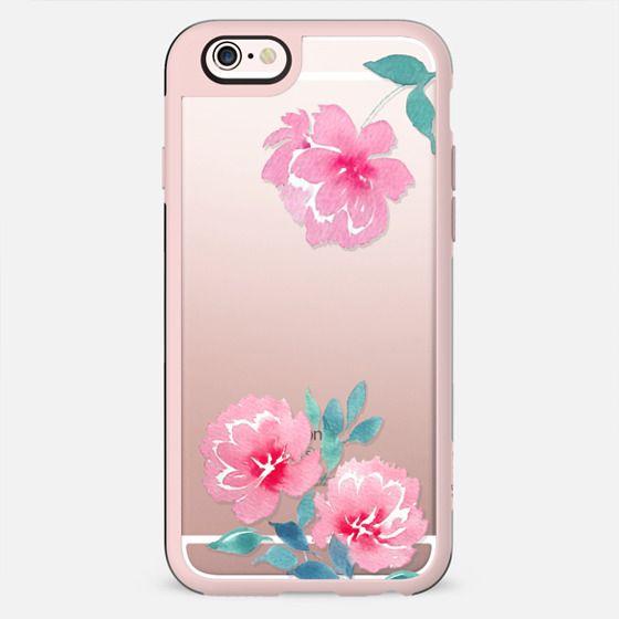 Watercolor flowers n.2 - New Standard Case