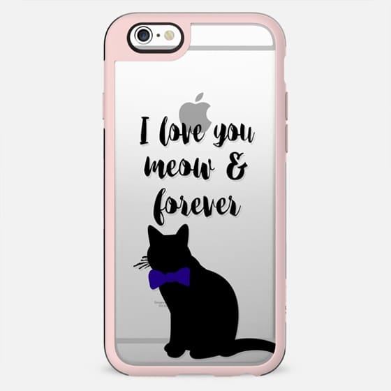 I love you meow & forever! n.1 - New Standard Case