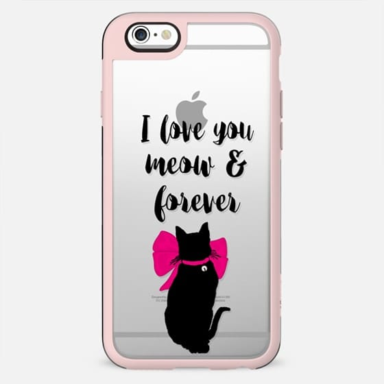 I love you meow & forever! n.2 - New Standard Case