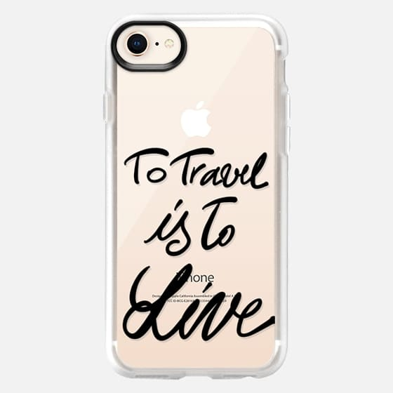 To travel is to live - Snap Case