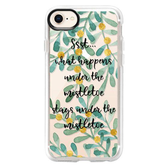 iPhone 7 Plus Cases - Ssst...what happens under the mistletoe...n.1
