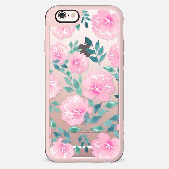 Pink floral pattern n.1