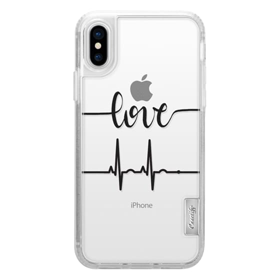 competitive price 21b86 80f8b Impact iPhone X Case - Love Beats n.1a