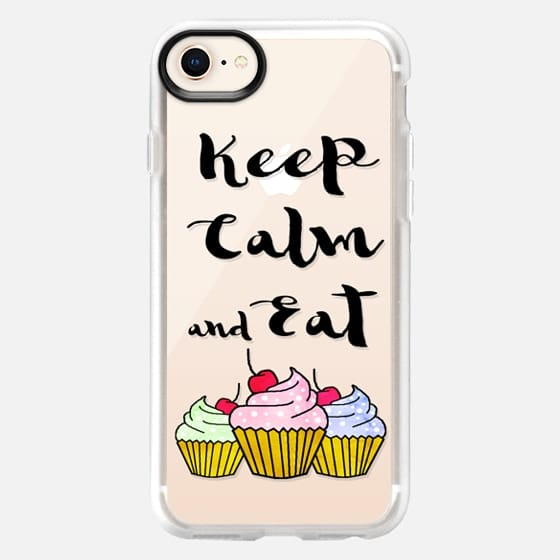 Keep Calm and Eat Cupcakes! n.1 - Snap Case