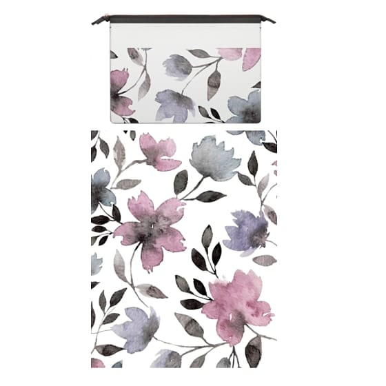 MacBook Air Retina 13 Sleeves - Floral watercolor pattern n.1