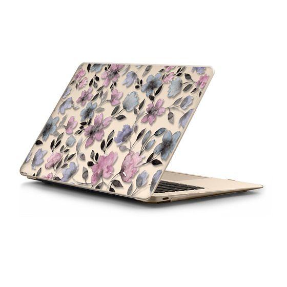 MacBook 12 Sleeves - Floral watercolor pattern n.1