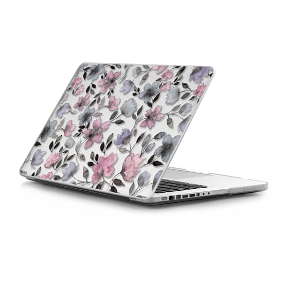 MacBook Pro 13 Sleeves - Floral watercolor pattern n.1