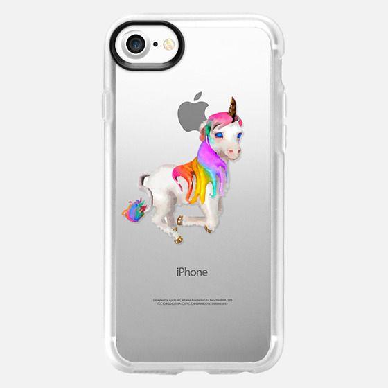 Unicorn watercolour - Classic Grip Case