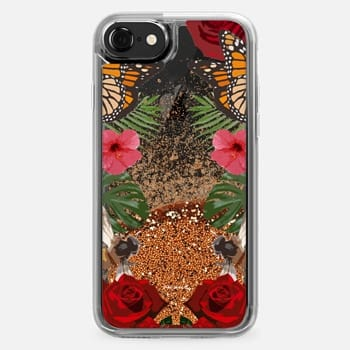 iPhone 7 Case Amour Love Blooms Floral Design