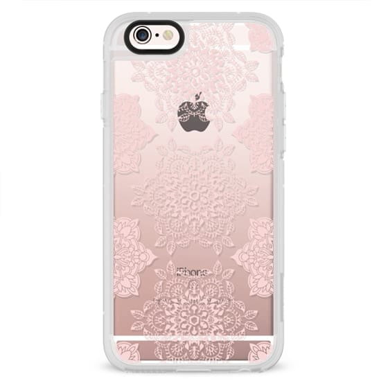 iPhone 6s Cases - Rose Floral Mandala Lace Pattern