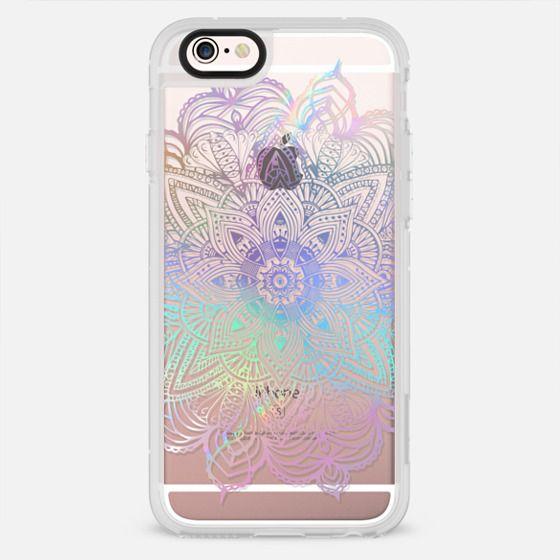 Rainbow Holographic Mandala Lace Explosion - New Standard Case