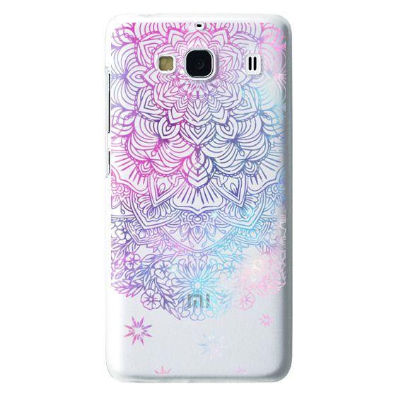Redmi 2 Cases - Duochrome Blue and Purple Mandala Lace Dreamcatcher