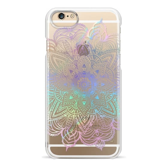 iPhone 6 Cases - Rainbow Holographic Mandala Lace Explosion