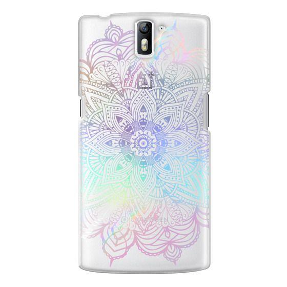 One Plus One Cases - Rainbow Holographic Mandala Lace Explosion