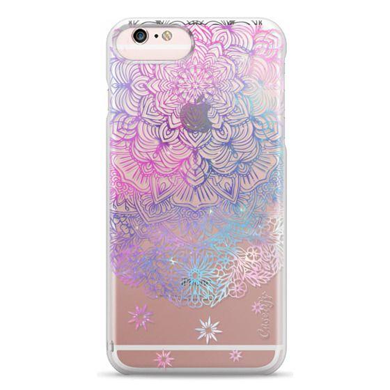 iPhone 6s Plus Cases - Duochrome Blue and Purple Mandala Lace Dreamcatcher