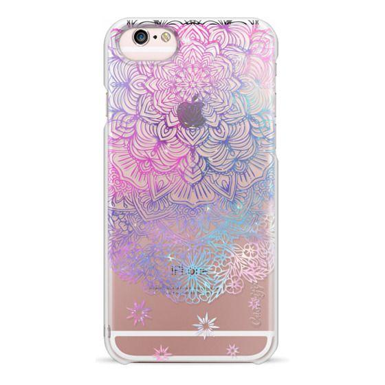 iPhone 6s Cases - Duochrome Blue and Purple Mandala Lace Dreamcatcher
