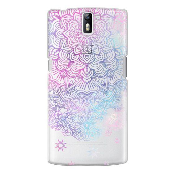 One Plus One Cases - Duochrome Blue and Purple Mandala Lace Dreamcatcher