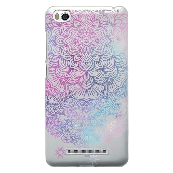 Xiaomi 4i Cases - Duochrome Blue and Purple Mandala Lace Dreamcatcher
