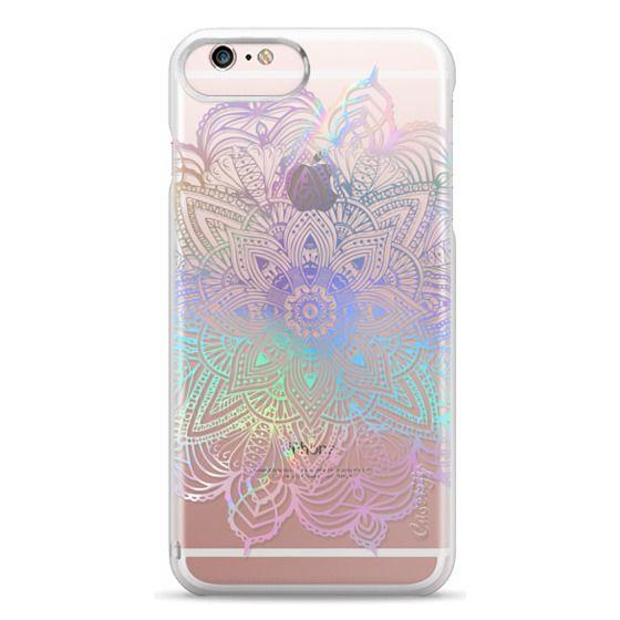 iPhone 6s Plus Cases - Rainbow Holographic Mandala Lace Explosion