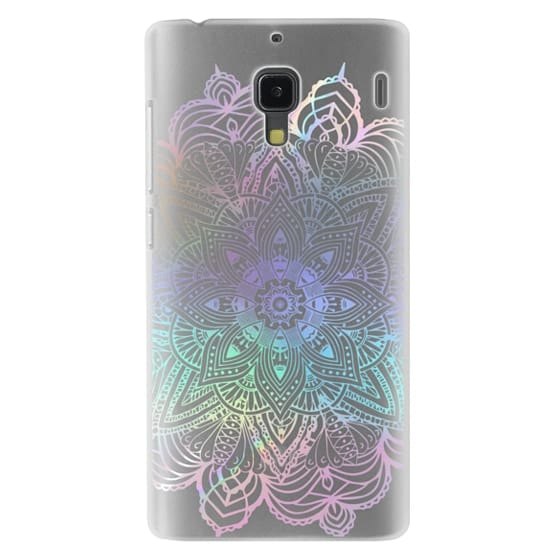 Redmi 1s Cases - Rainbow Holographic Mandala Lace Explosion