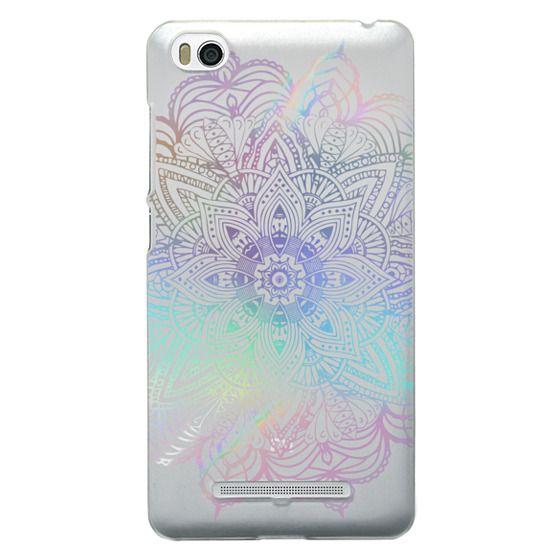 Xiaomi 4i Cases - Rainbow Holographic Mandala Lace Explosion