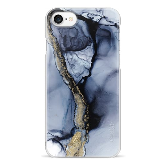 iPhone 7 Cases - Black Marble