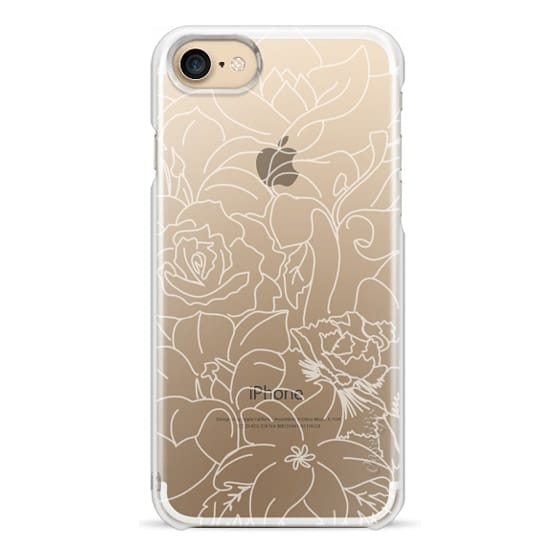iPhone 7 Cases - Modern Florals
