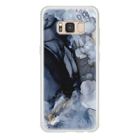 Samsung Galaxy S8 Cases - Black Marble