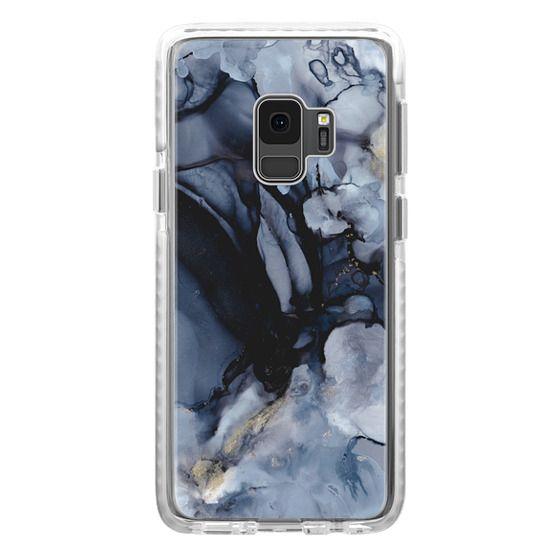 Samsung Galaxy S9 Cases - Black Marble