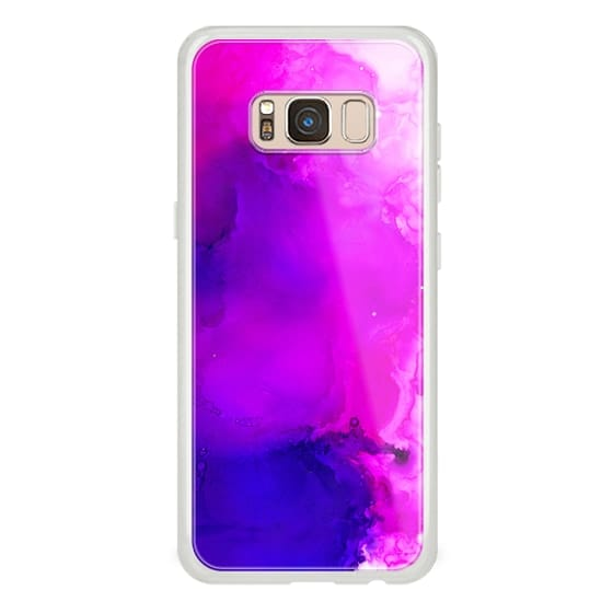 Samsung Galaxy S8 Cases - Vibrant Waves