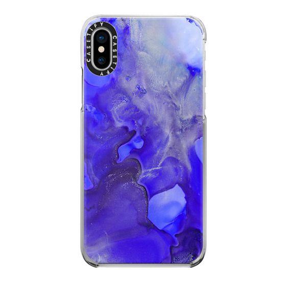 iPhone X Cases - Cobalt Blue