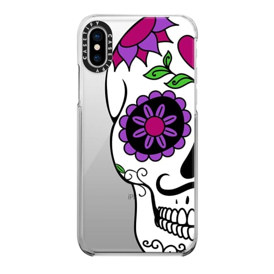 iPhone X Cases - Boyfriend Sugar Skull